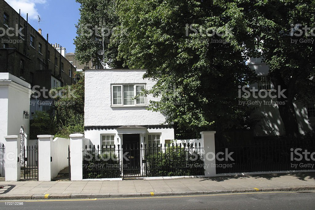 Townhouse cottage royalty-free stock photo