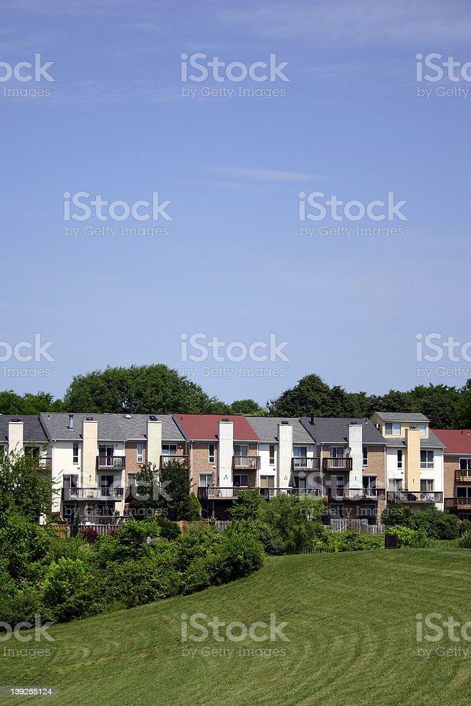 townhouse stock photo