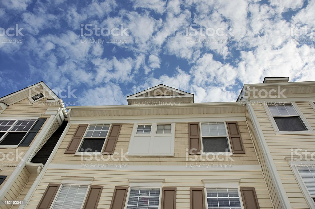 Townhouse royalty-free stock photo