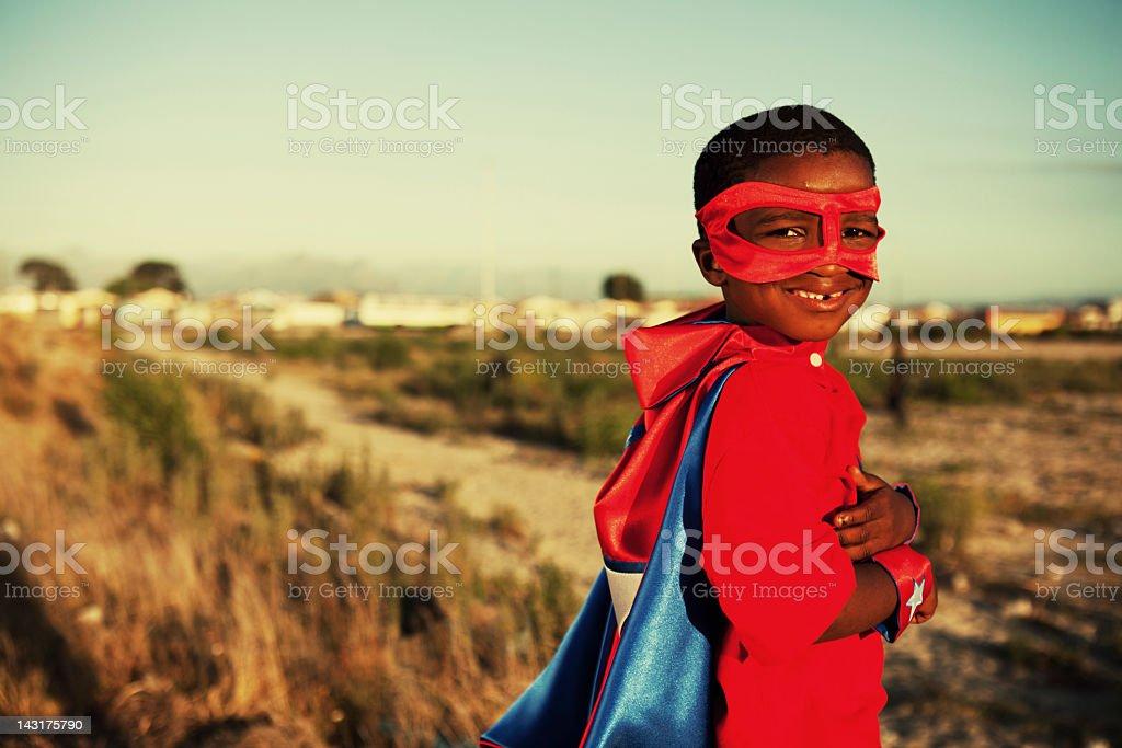 Township Hero royalty-free stock photo