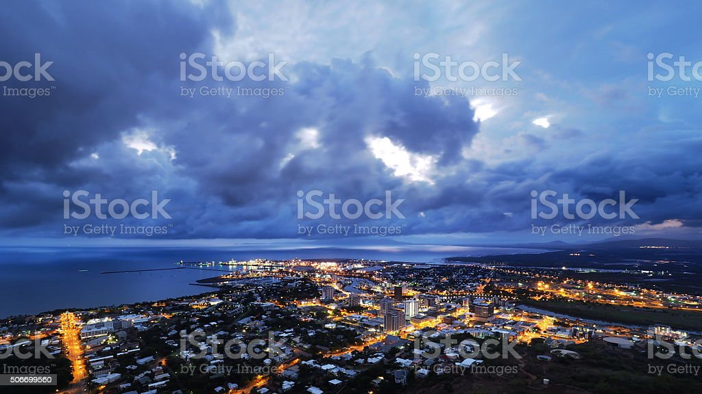 Townsville stock photo