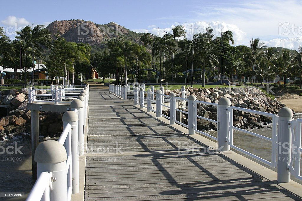 Townsville The Pier royalty-free stock photo