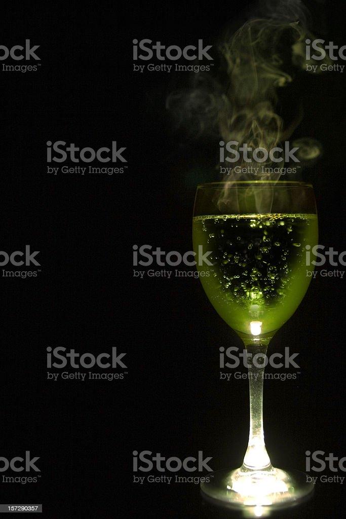 Toxic Cocktail royalty-free stock photo