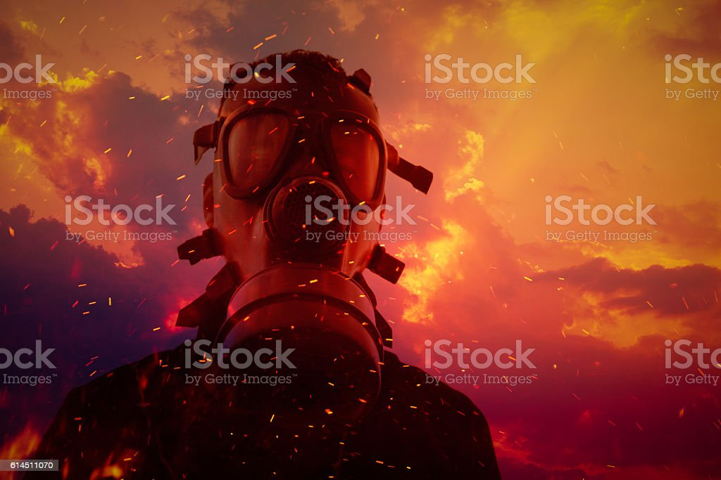 toxic environment stock photo