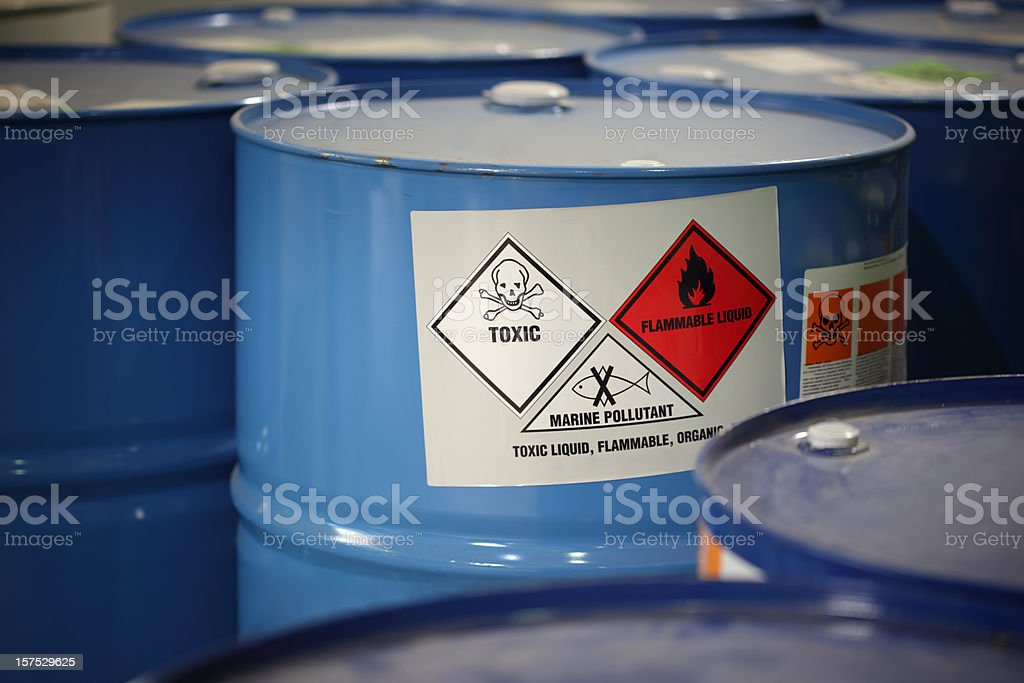 Toxic Substance stock photo