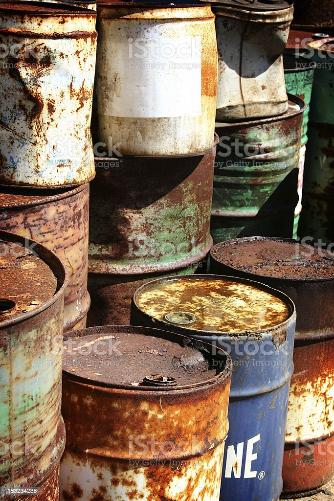 Toxic Waste royalty-free stock photo