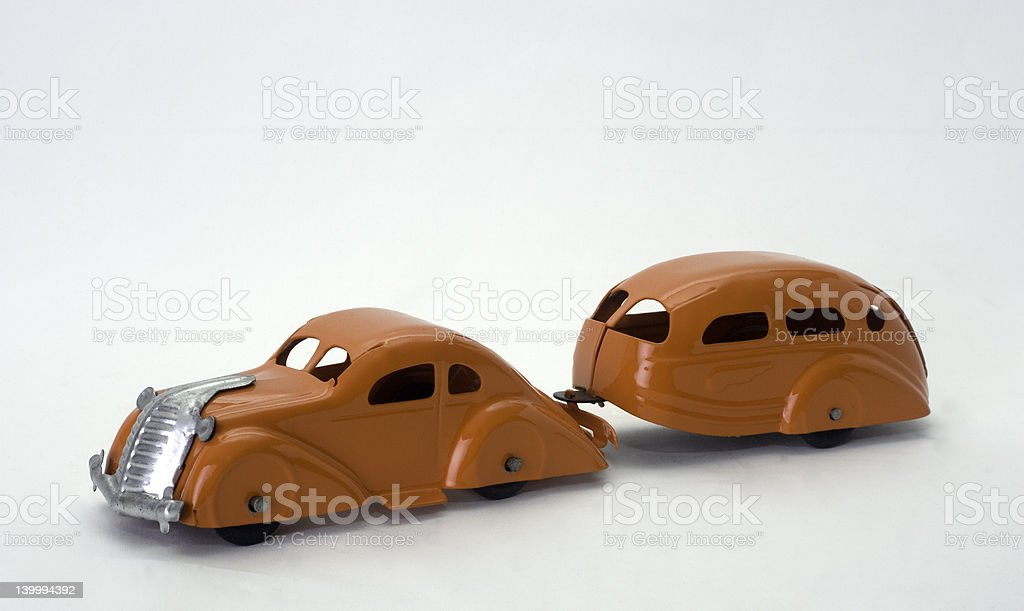 Toy Antique Car royalty-free stock photo
