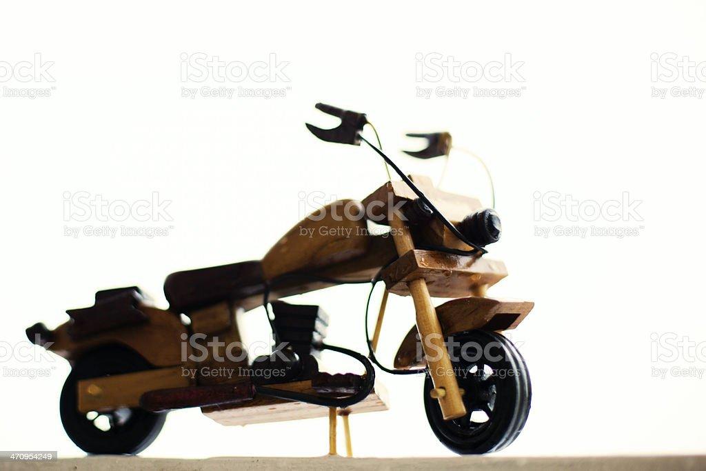 Toy Bike stock photo
