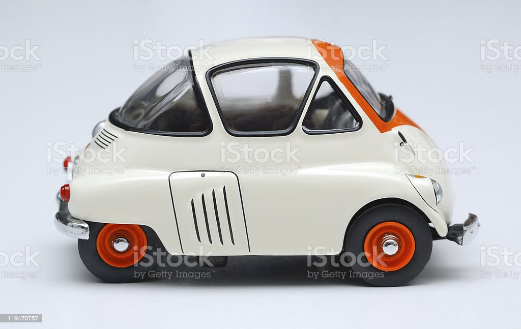 Toy Bubble Car stock photo