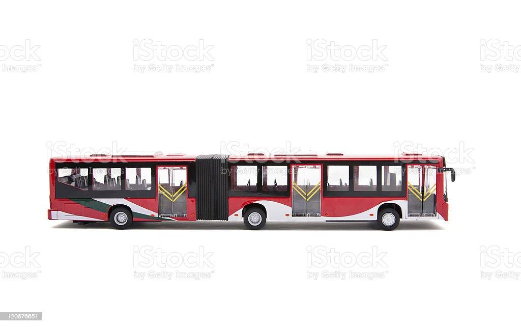toy bus royalty-free stock photo