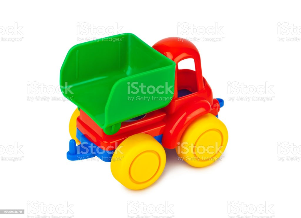 Toy car truck stock photo
