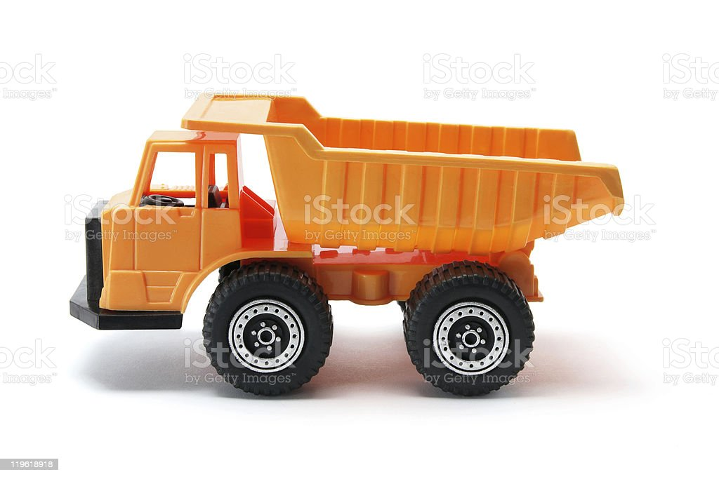 Toy Construction Tipper royalty-free stock photo