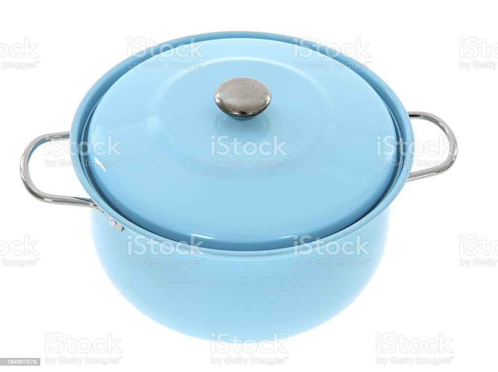 Toy Cooking Pot stock photo