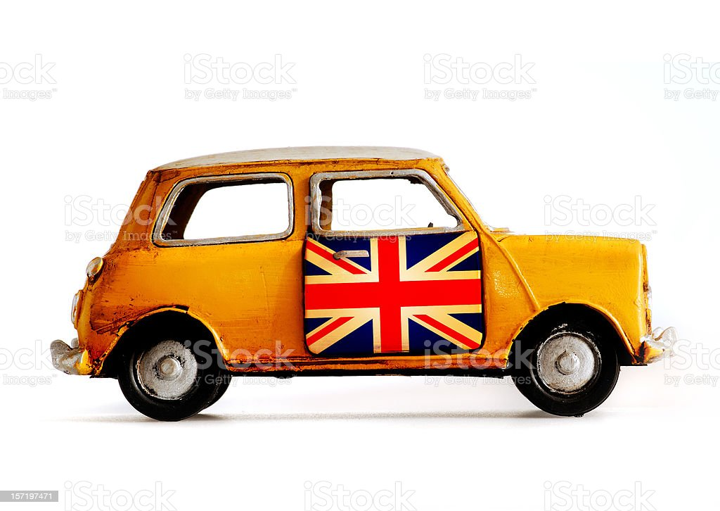 toy cooper car royalty-free stock photo