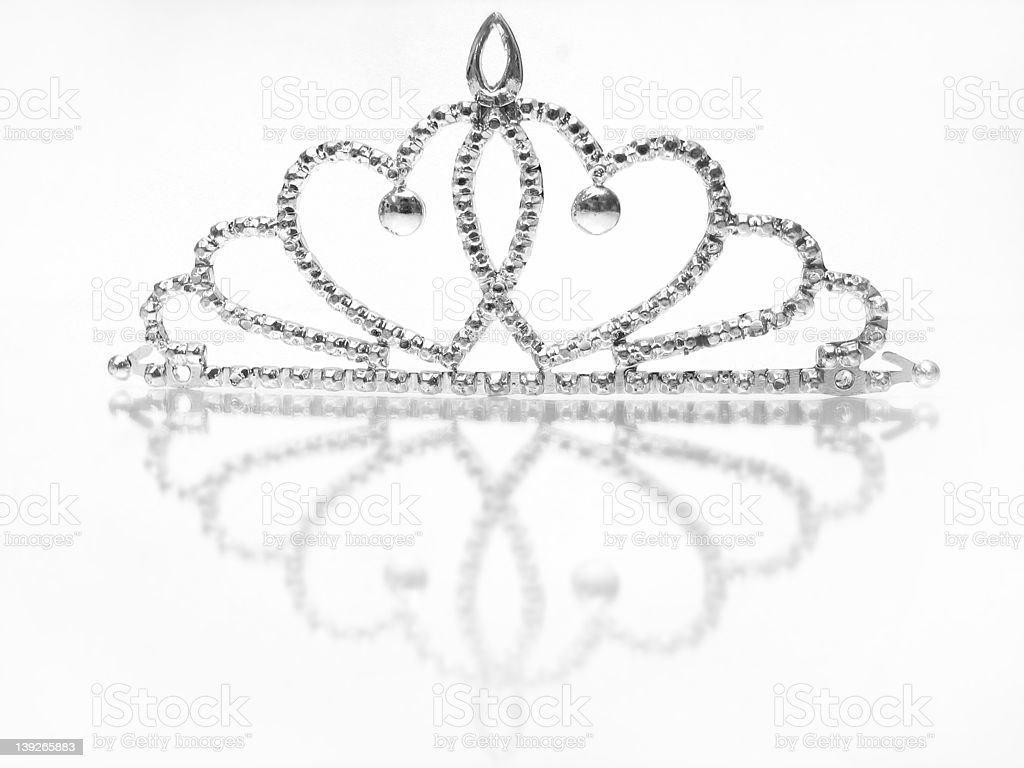 Toy crown royalty-free stock photo