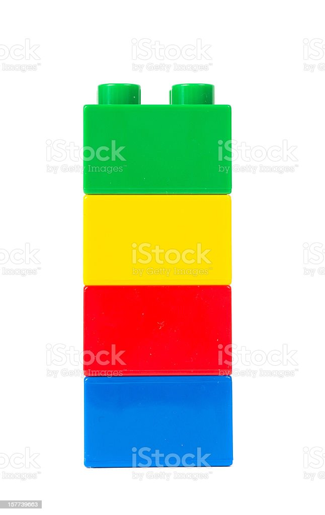 toy cubes stock photo