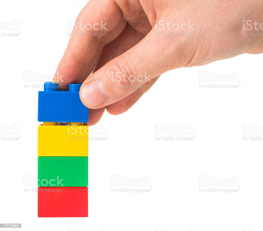 toy cubes royalty-free stock photo