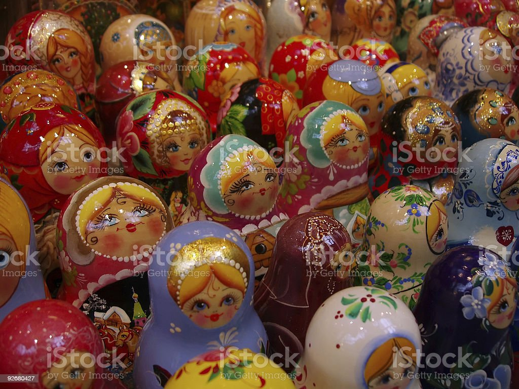 Toy Diversity Pattern royalty-free stock photo