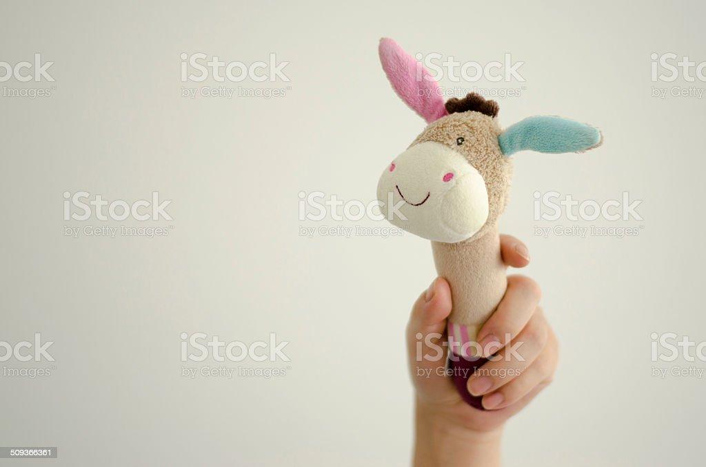 toy donkey stock photo