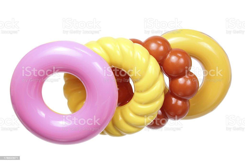 Toy Doughnuts royalty-free stock photo