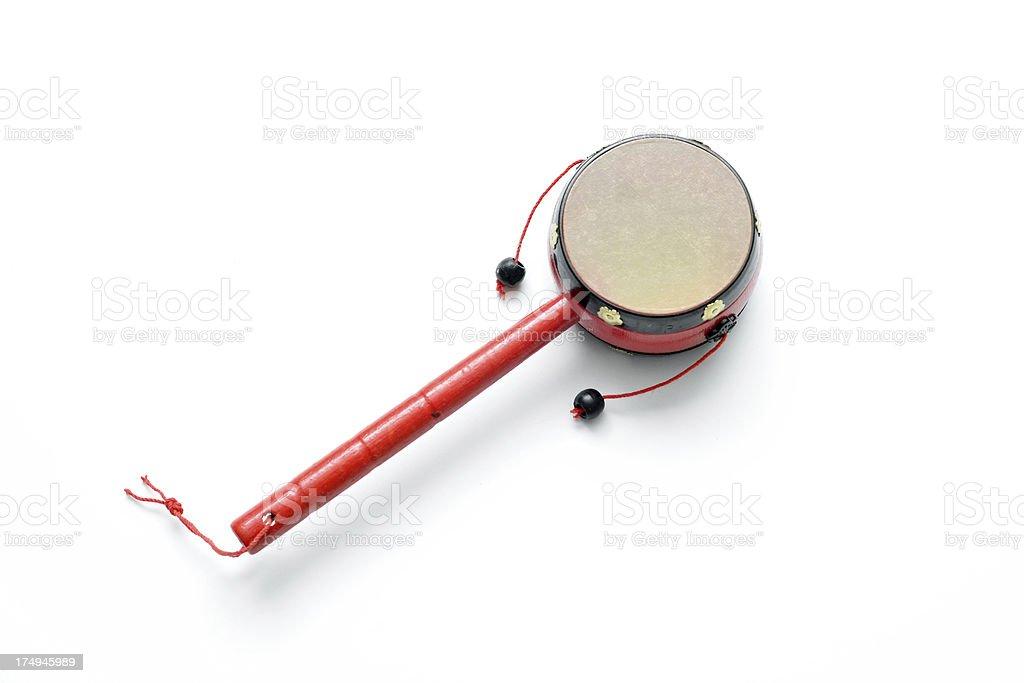 Toy Drum stock photo