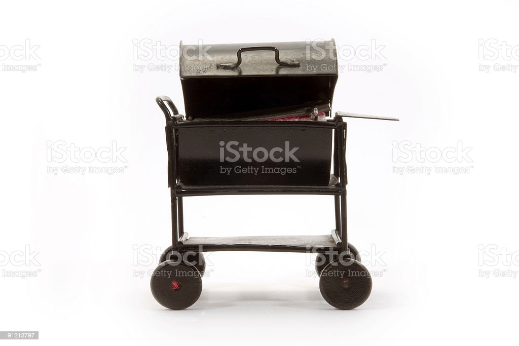 Toy Grill stock photo