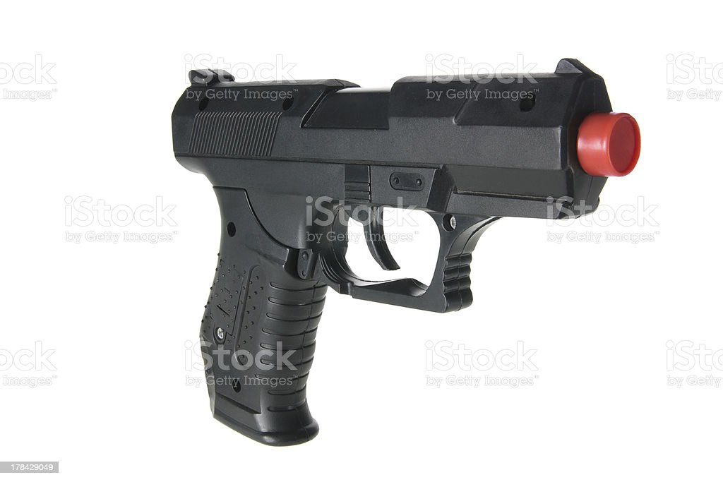 Toy Gun stock photo
