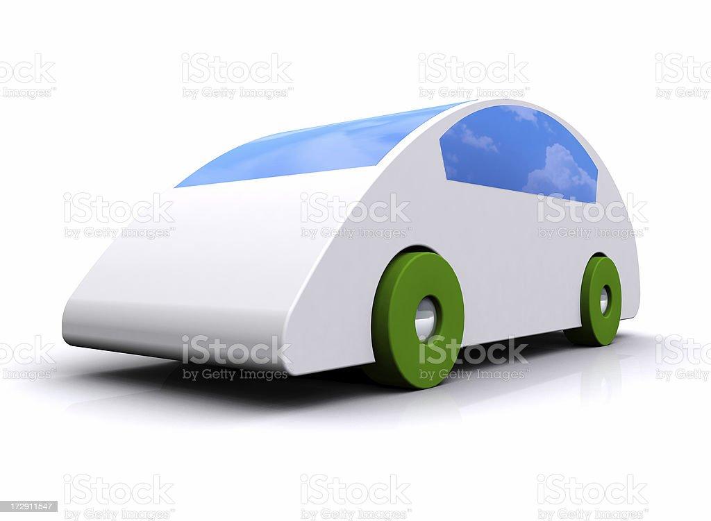 Toy Hybrid Vehicle royalty-free stock photo