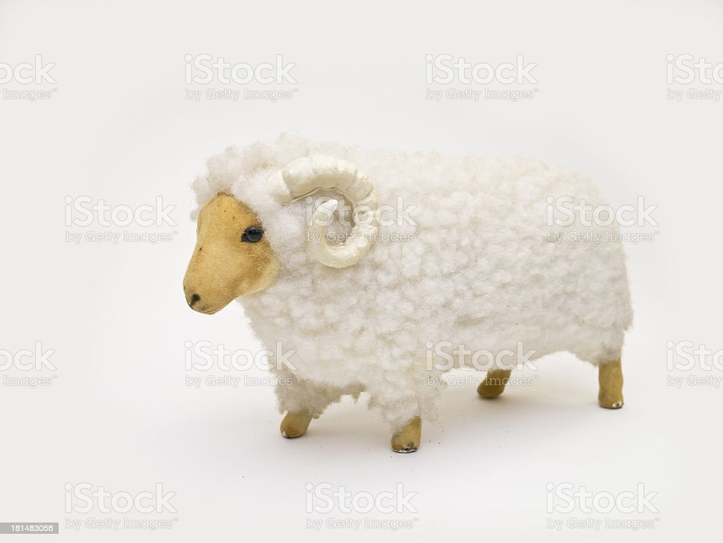 toy lamb royalty-free stock photo