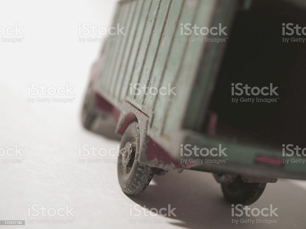 Toy Moving Truck royalty-free stock photo