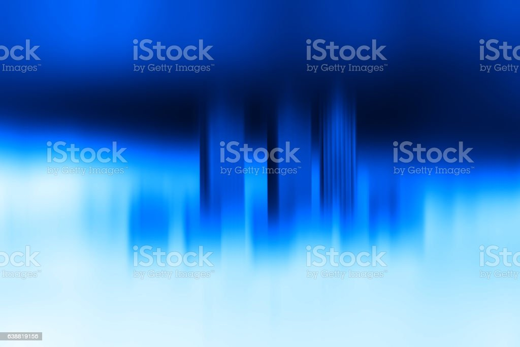Toy office skyscrapers blue motion blur background stock photo