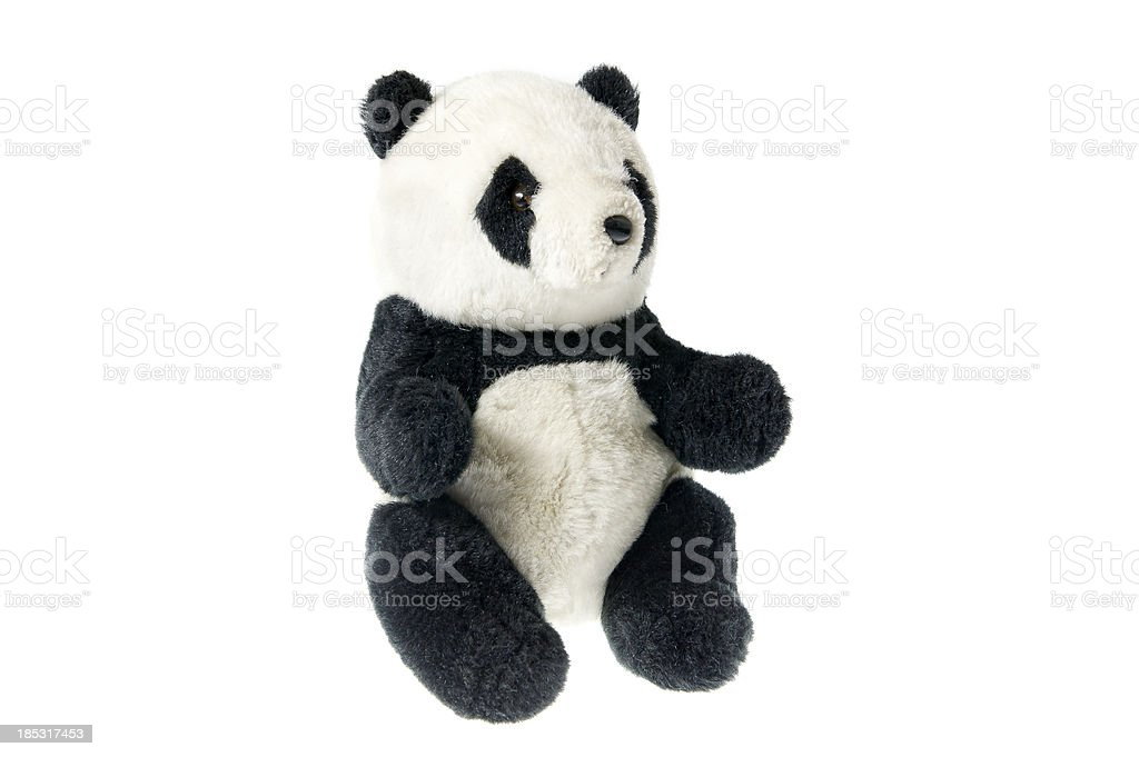 Toy Panda stock photo