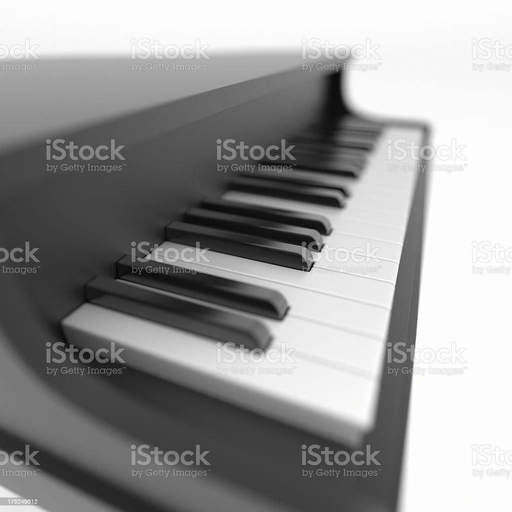 Toy Piano Keyboard XL+ royalty-free stock photo