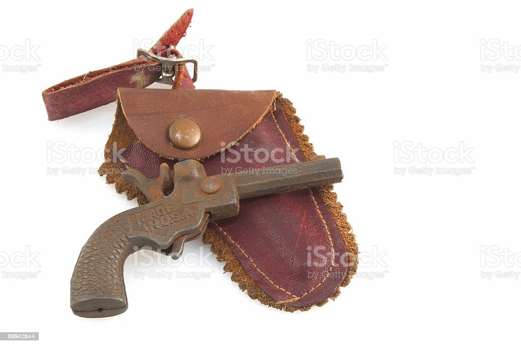 Toy Pistol royalty-free stock photo