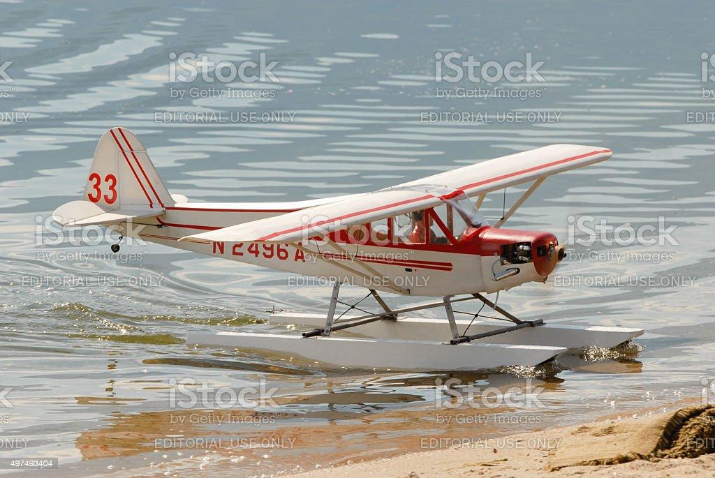 Toy Plane stock photo