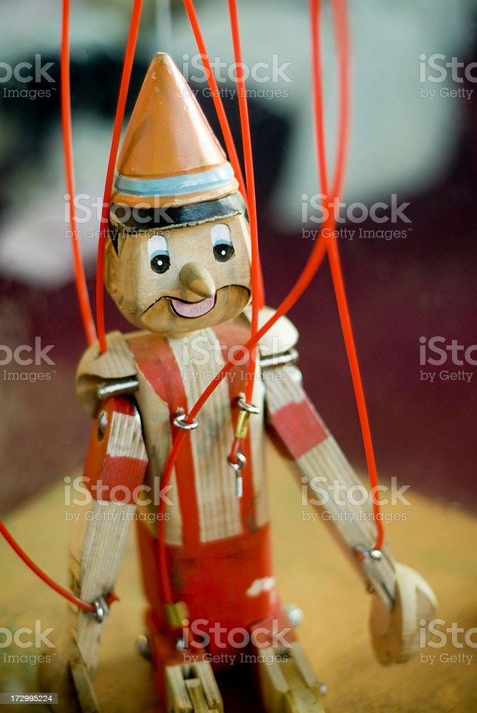 Toy Puppet royalty-free stock photo