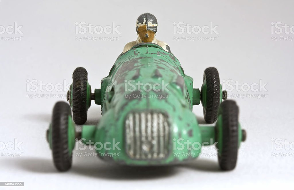 Toy Race Car stock photo