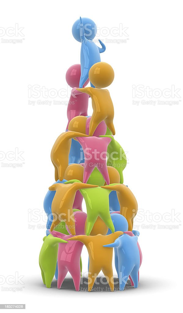 Toy Race royalty-free stock photo