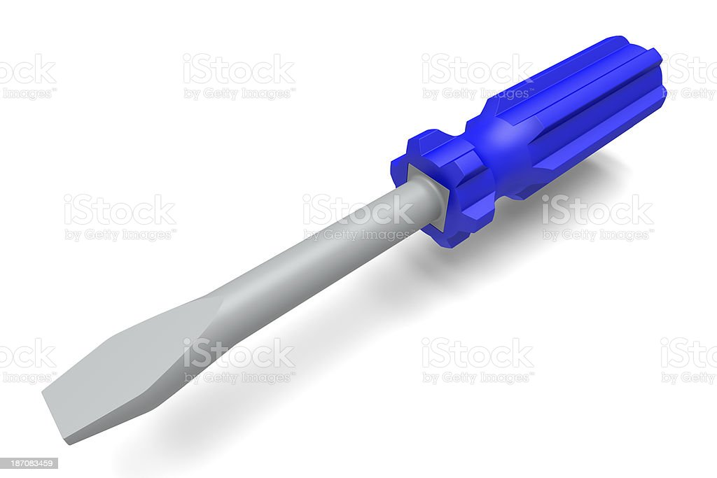 Toy Screwdriver royalty-free stock photo
