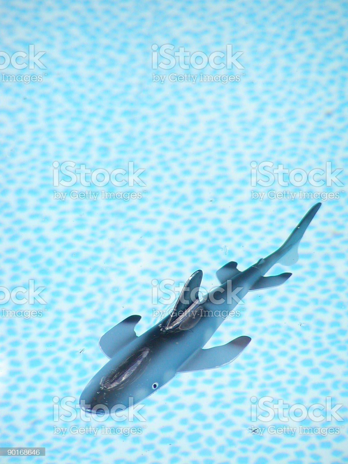Toy Shark royalty-free stock photo
