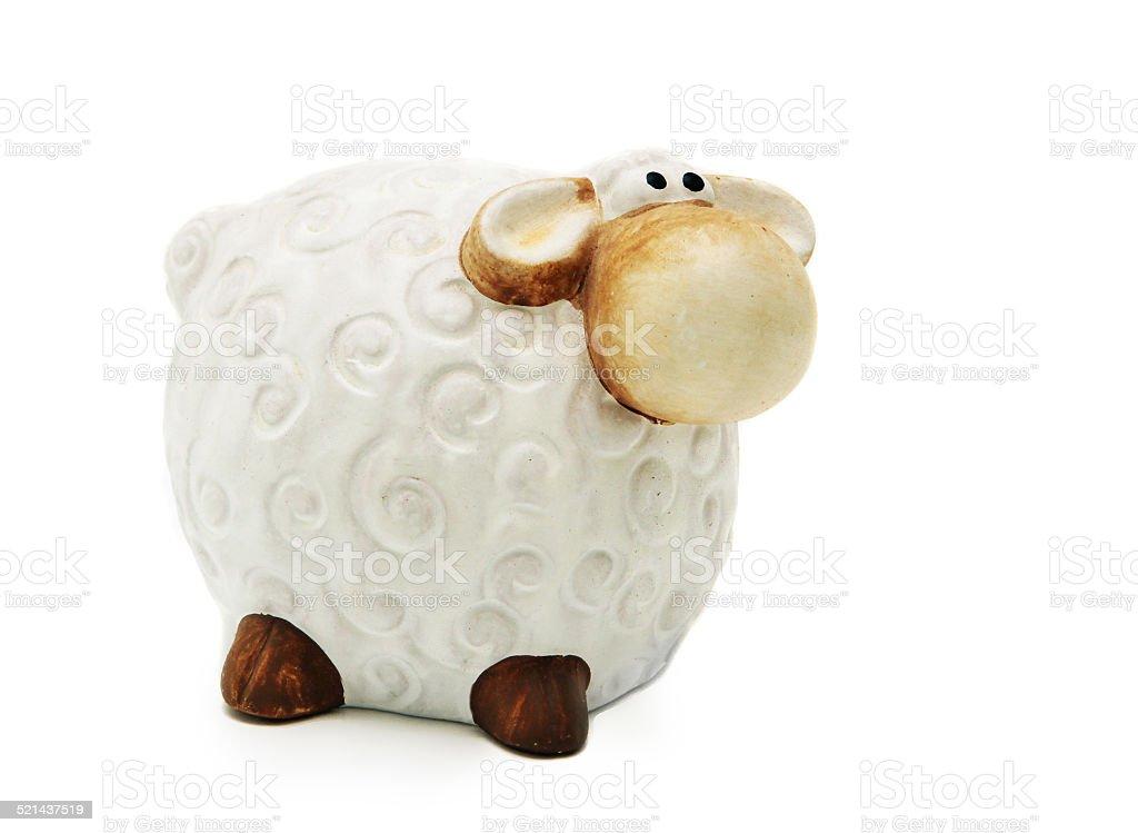 Toy sheep Стоковые фото Стоковая фотография
