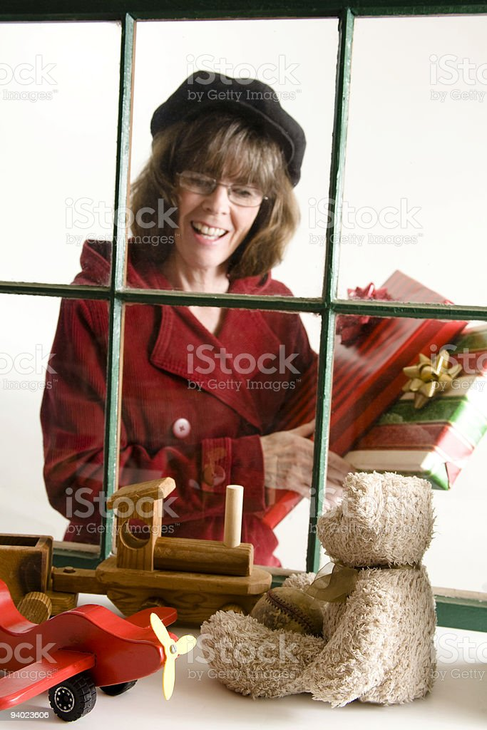 Toy Shop Window royalty-free stock photo