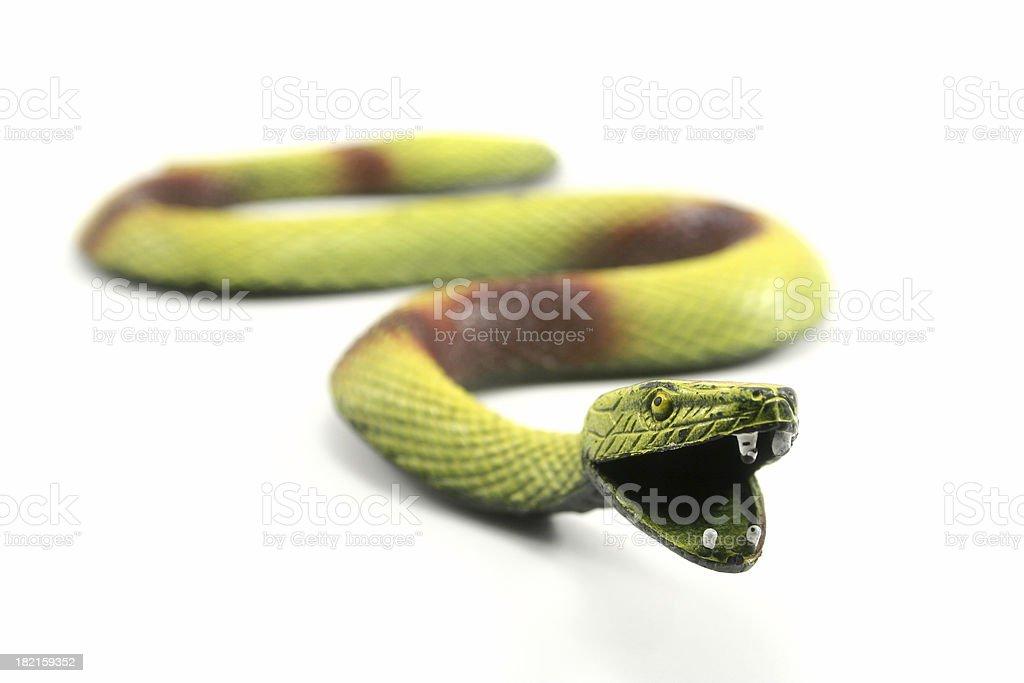 Toy Snake stock photo