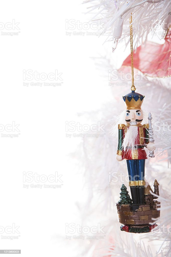 Toy Soldier ornament stock photo