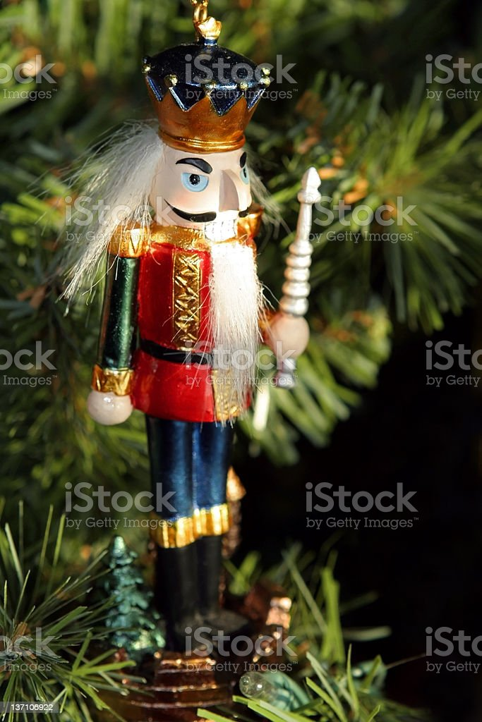 Toy Soldier ornament royalty-free stock photo