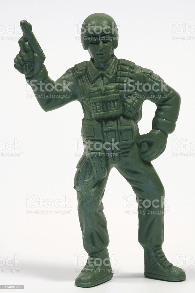 Toy Soldier (Marine) royalty-free stock photo