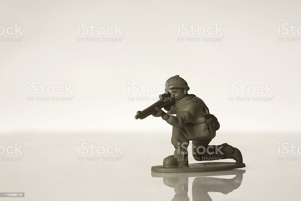 toy soldiers royalty-free stock photo