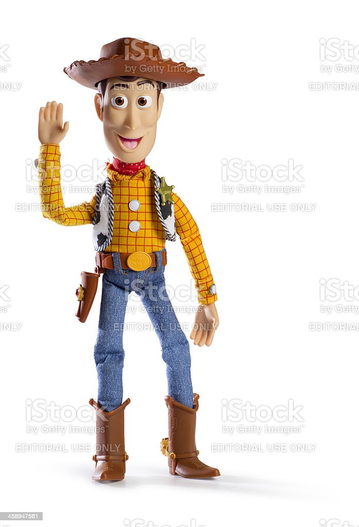 Toy Story Sherriff Woody stock photo