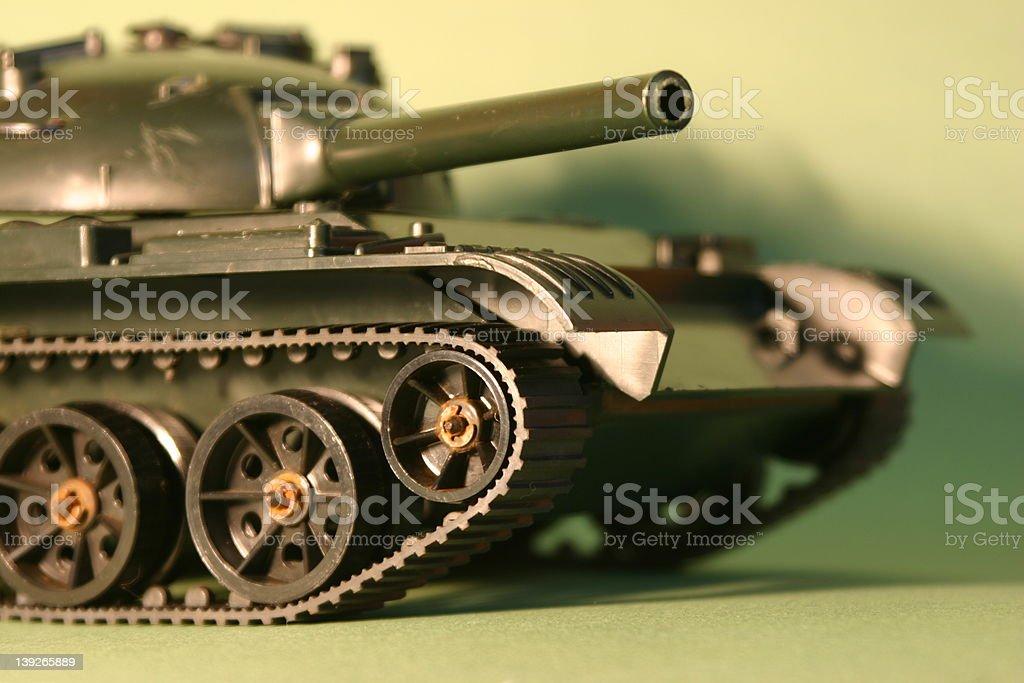 Toy Tank royalty-free stock photo