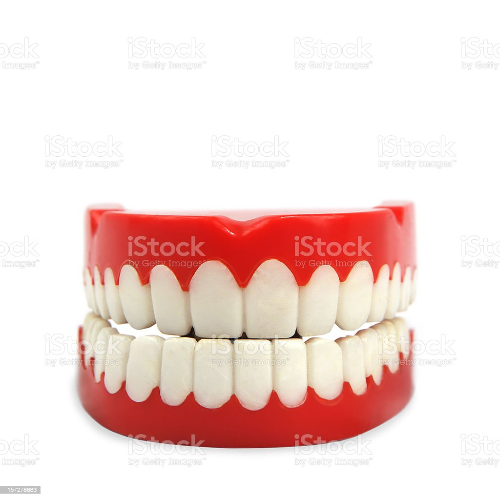 toy teeth stock photo